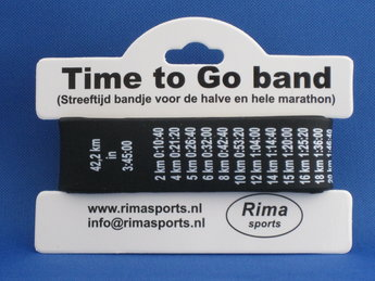 Time to Go Band marathon/halve marathon