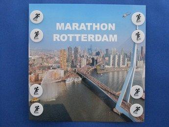 Limited edition: Marathon Rotterdam 8 clips op kaart