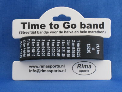 Time To go band Halbmarathon